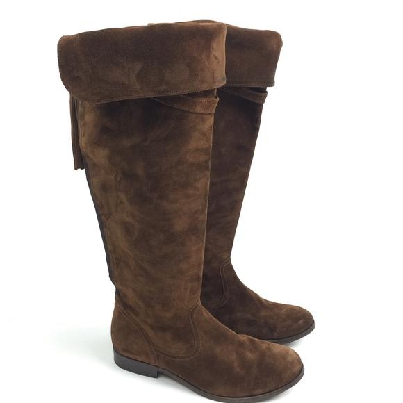 92147f36e0c FRYE Womens Clara Tassel Over the Knee Otk Slouch